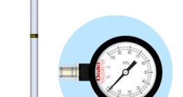 テンシオメータ (圧力ゲージタイプ)