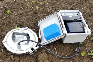土壌ガス拡散係数測定装置