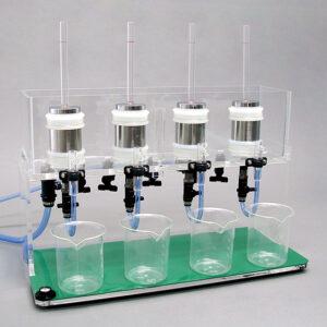 土壌透水性測定器 4点式